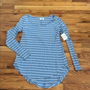 NWT Nordstrom BP striped long sleeve